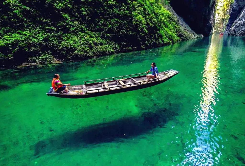 端午  畅游中国仙本那--躲避峡、女儿城、土司城、九黎城!
